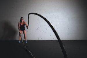 Athletik- und Krafttraining Frau