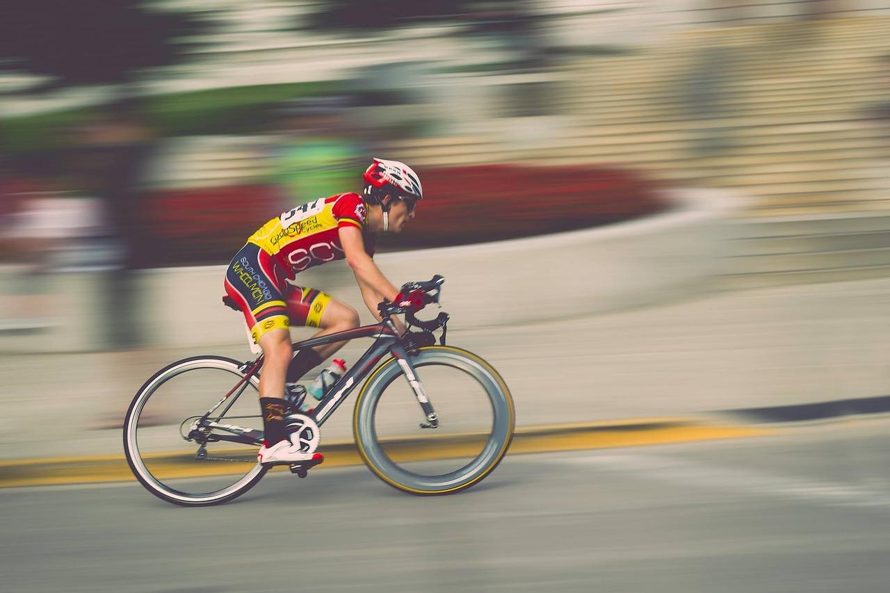 Schneller Radfahrer