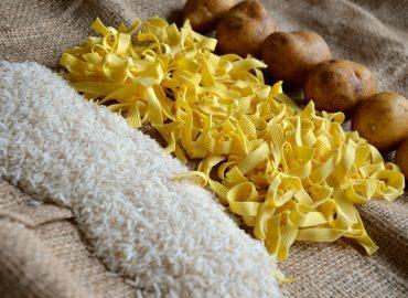 Reis, Nudeln, Kartoffeln