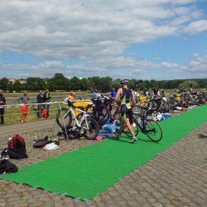 Triathlon Wechselzone