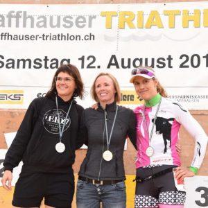 Mediallien beim Schaffhauser Triathlon